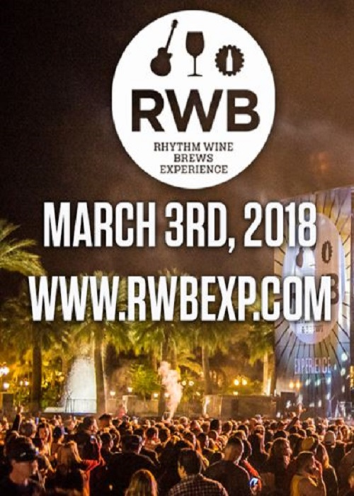 Rhythm, Wine & Brews - Mar 3