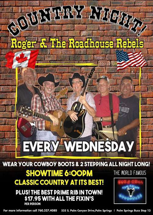 Roadhouse Rebels - Feb 28